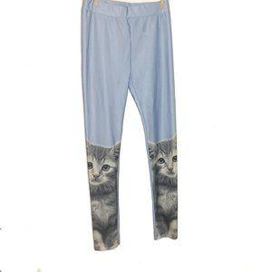 H&M Cat Leggings